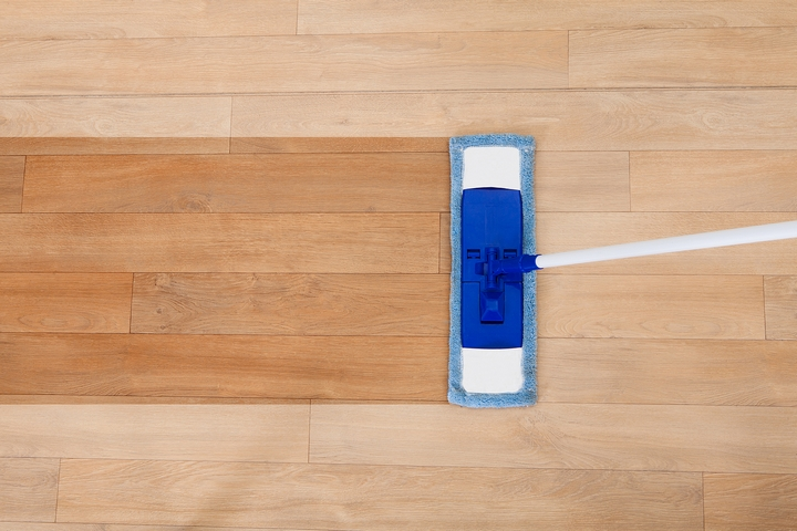 Remove Sticky Residue From Hardwood Floors